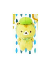 NEW San-X Corocoro Coronya Melonpan Cat Keychain Plush 11cm SS9427 US Seller