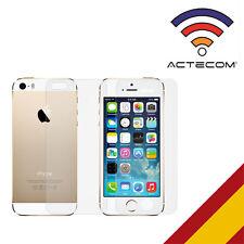 ACTECOM® CRISTAL TEMPLADO DOBLE 9H PARA IPHONE 5 5S 5C SE DELANTERO-TRASERO