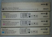 Xerox Workcentre 7525/7530/7535 etc CMYK Toner Brand New