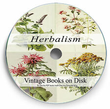 Rare Herbalism Books on DVD Botany Homeopathy Herb Natural Medicine Remedy  274