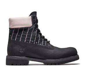 Timberland Rare Exotic print Black/Pink boots men size 10