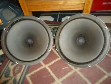 2 VINTAGE 12 INCH ALNICO SPEAKER 4 OHM RATED FOR TUBE AMPLIFIERS