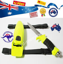 Scuba Diving Hunting Camping Fishing Stainless Steel Dive Knife