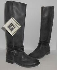 Frye Women's Shirley Riding Plate Riding Boots Black  Sz 7 1/2