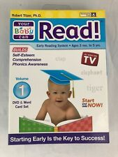 Your Baby Can Read Early Reading System Volume 1  DVD & Word Card Set