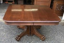 48� Walnut Dining Table, With 5 Leaves