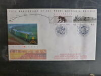 2004 THE GHAN INAUGRAL JOURNEY ADELAIDE-DARWIN W/- CPS TRAIN COVER