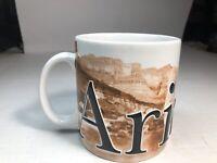 Arizona Travel Souvenir Coffee Mug Southwest Cactus Desert