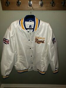 LA RAMS STARTER Jacket 100yr int'l UK edition XL Rare!! New(other) see desc.
