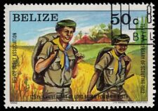 "BELIZE 641 (SG690) - Boy Scouts 75th Anniversary ""Hiking"" (pa54970)"
