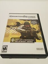 Counter Strike Source PC CD Rom Game 4 Disc Set - VG condition - No code key