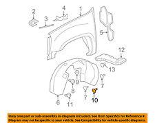 GM OEM-Fender Liner Splash Shield Screw 11562172