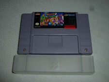 SUPER NINTENDO SNES VIDEO GAME CARTRIDGE SUPER BOMBERMAN 2 CART W DUST COVER