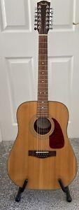 Fender 12 string acoustic guitar.