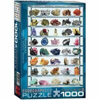 Eurographics Puzzles 1000 Piece Jigsaw Puzzle - Minerals EG60002008