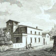 Monte Mario Roma 1804 Lazio Bourgeois Devilliers