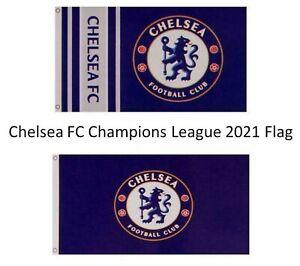 Chelsea Champions League Final 2021 Large Flag For Chelsea Fans