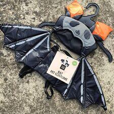 "HALLOWEEN BAT ""Black"" Fun Novelty Dog Costume Outfit (LARGE) 43cm **NEW**"