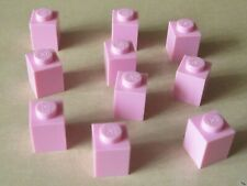 LEGO Brick 1 x 1 (3005 / 30071 / 35382) In Bright Pink x 10 (Brand New)