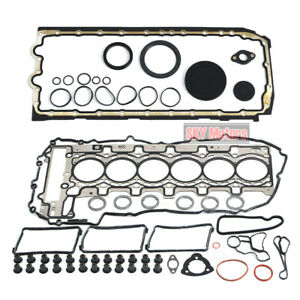 Engine Gasket Seals Overhaul kit for BMW 335i 640i X4 X5 X6 F30 F31 E71 N55 3.0T