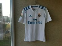 Real Madrid Home football shirt 2017/2018 Jersey Adidas Size Growth 175 Spain