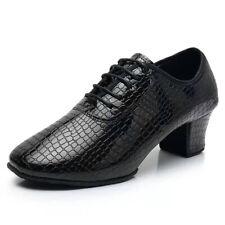 Women Latin Dance Shoes Girls Ballroom Modern Jazz Tango Dance Shoes Black Red