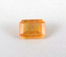 TOP SAPPHIRE : 3,77 Ct Natürlicher Orange Gelb Saphir aus Ceylon