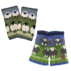 Pachamama Flock of Sheep Wool Handwarmers Fleece Lined Made in Nepal