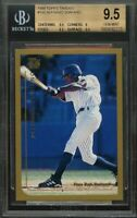 1999 topps traded #t65 ALFONSO SORIANO yankees rookie BGS 9.5 (9.5 9 9.5 9.5)