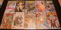 LOT (10) WONDER WOMAN #122 125 126 130 132 133 134 137 139 (1987, DC) HIGH GRADE