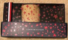Tommy Hilfiger 3 Pack Black Glitter Ankle Socks  Sml/Med New