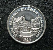 Medaille Rotenburger Taler 1988 Stadtteil Die Türkei Zirbesbrunnen (ut20n711)