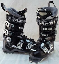 Nordica Speed Machine 85w Used Women's Ski Boots Size 23.5 #633383