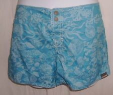 Full Sand Size L Blue Floral Shorts/Board Shorts