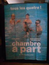 AFFICHE originale grand format ( 120 x 160 ) .CHAMBRE A PART - J Cukier ( 1989)