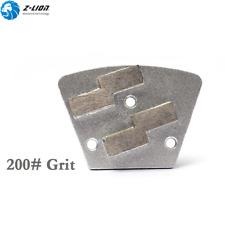 9Pcs Diamond Concrete Floor Grinder Grinding Pad Metal Bond Grit 200 for Grinder
