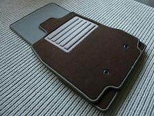 $$$ DeLuxe Velours Fußmatten für Jaguar XF + BRAUN + Original Lengenfelder + NEU