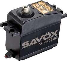 Savox SC-0252MG Metal Gear Digital Servo (1/8th & 1/10th scale) sc0252mg