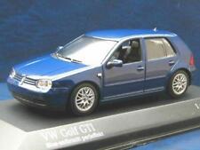 + VOLKSWAGEN VW Golf 4 GTI Minichamps 1:43 blue anthrazit perleffekt 430056009