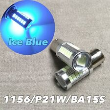 Back up Reverse light 1156 BA15S 7506 P21W ICE BLUE samsung SMD LED Bulb W1 A
