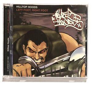 HILLTOP HOODS - LEFT FOOT RIGHT FOOT CD OZ Hip Hop CD ENHANCED - NEW (Mass Mc)
