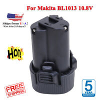 10.8V 3.0Ah Replacement Battery 12V For Makita MAX Li-ion BL1013 BL1014 BC703 US
