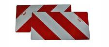 XL Reflektor Last Warnmarkierung DIN 11030 rot weiß LKW Container Anhänger
