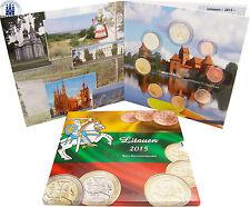 Litauen 3,88 Euro 2015 bfr. KMS Vytis, der Verfolger 1 Cent bis 2 Euro im Folder