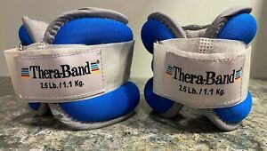 Thera Band System of Progressive Exercise Ankle & Wrist Weight Set 2.5 lb. Each