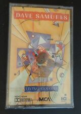 DAVE SAMUELS Music Cassette LIVING COLORS New 1988 Free Shipping SEALED Vintage