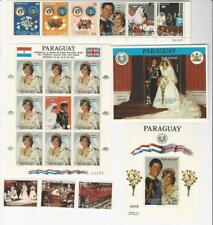 Paraguay, Postage Stamp, #2022-2027 Mint NH, 1981 Princess Diana, JFZ