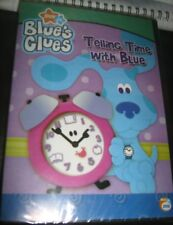 BLUE'S CLUES TELLING TIME WITH BLUE ORIGINAL DVD all region sealed