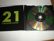 Hunter Hayes 21 CD SINGLE tracks 21, Story Behind the Song, Intro Liner, Outro L
