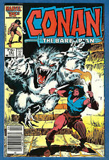 CONAN: THE BARBARIAN # 181  Marvel 1986 (fn-vf)
